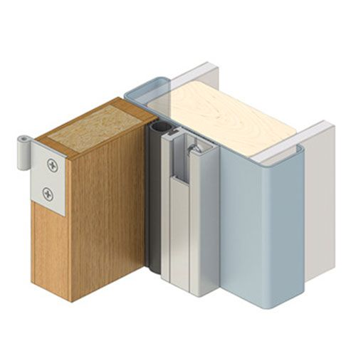 Heavy Duty Perimeter Seal RP47Si (Double Door Set)