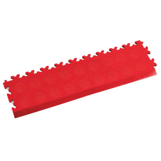 MotoLock Interlocking Tile Edging (Red CoinTop) | Stormflame